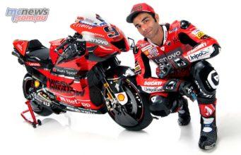 MotoGP Ducati Launch Petrucci