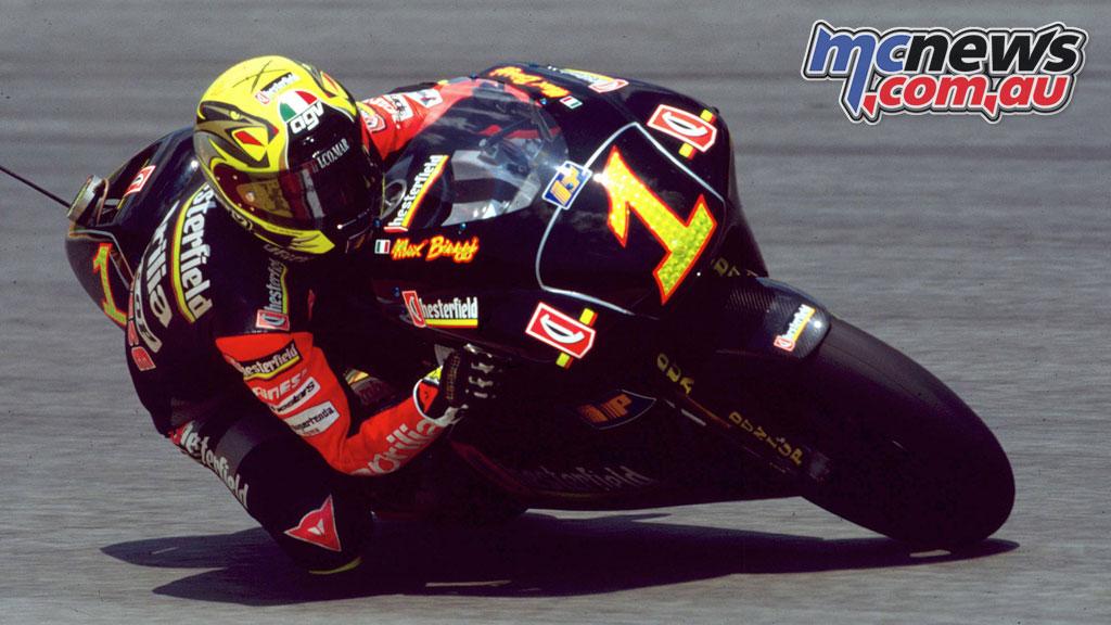 MotoGP Legends Hall of Fame Induction Max Biaggi
