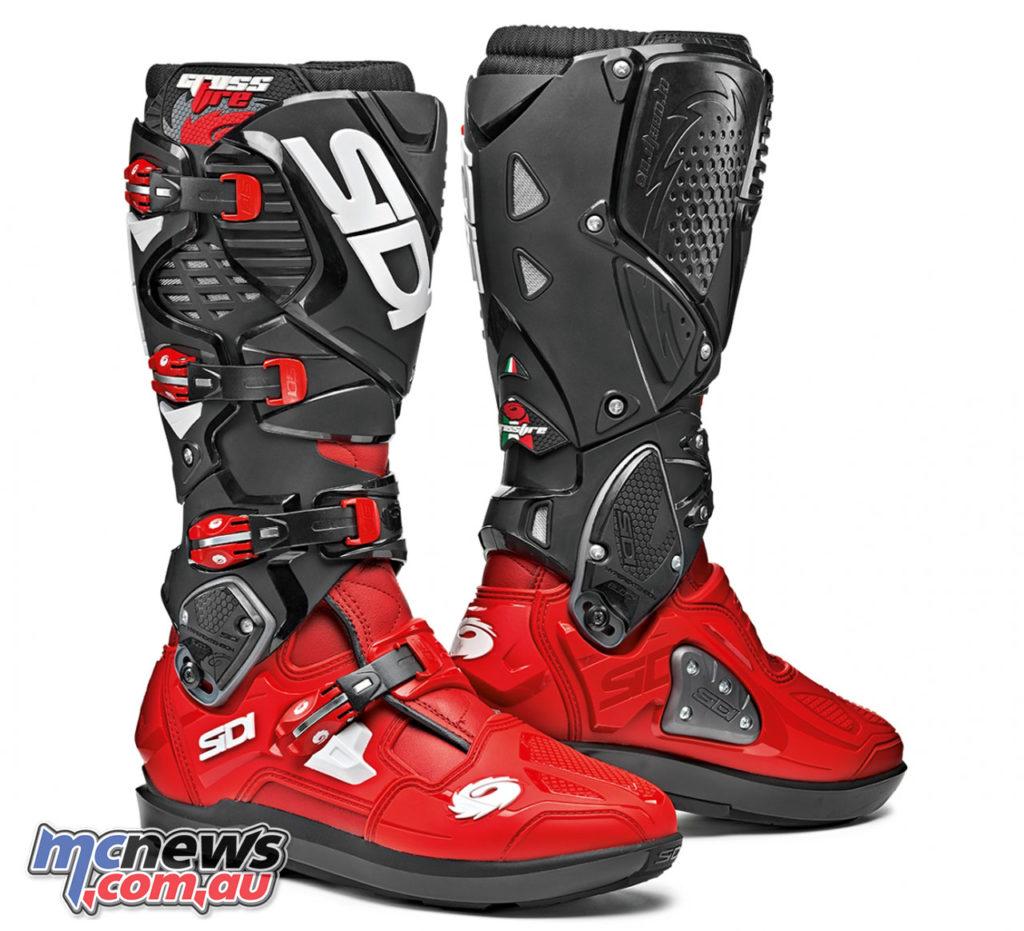 Sidi CrossFire SRS Boot RedRedBlack
