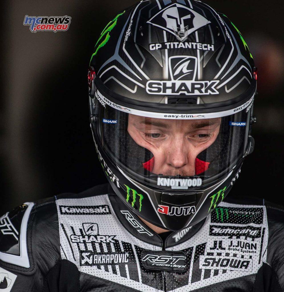 WorldSBK Test Jerez Day Alex Lowes GeeBee