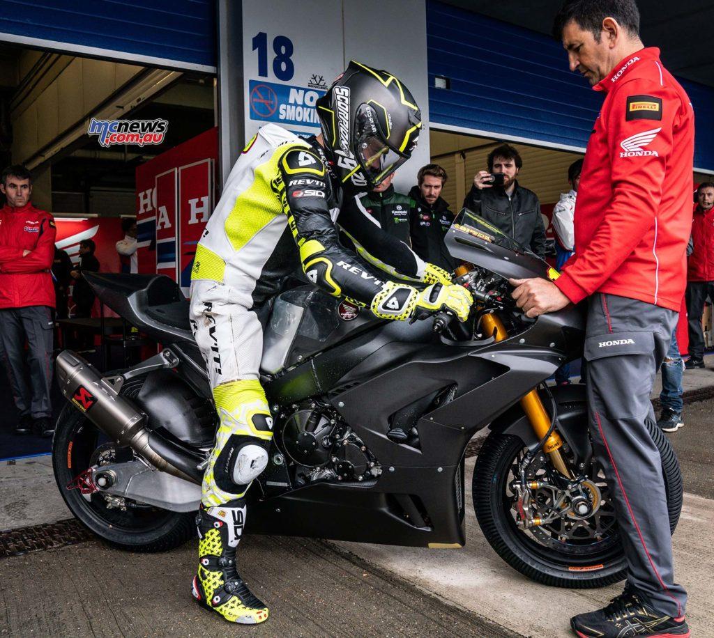 WorldSBK Test Jerez Day Alvaro Bautista GeeBee