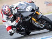 WorldSBK Test Jerez Day Leon Haslam GeeBee