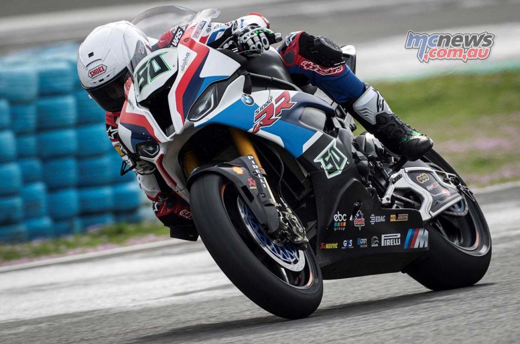 WorldSBK Test Jerez Day Eugene Laverty