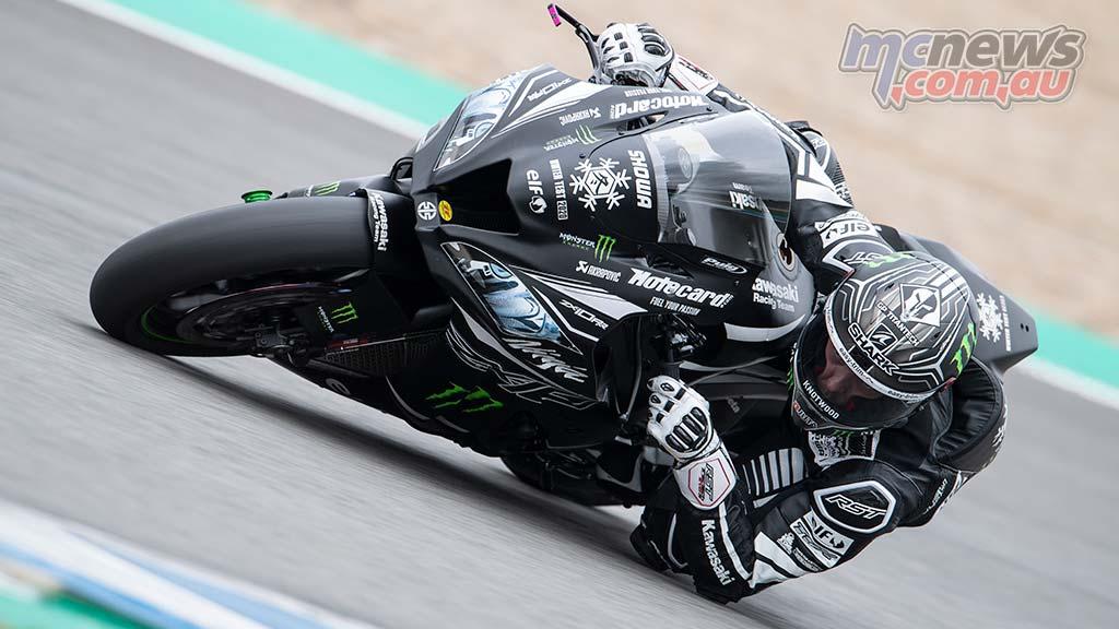 WorldSBK Test Jerez Day Lowes GeeBee