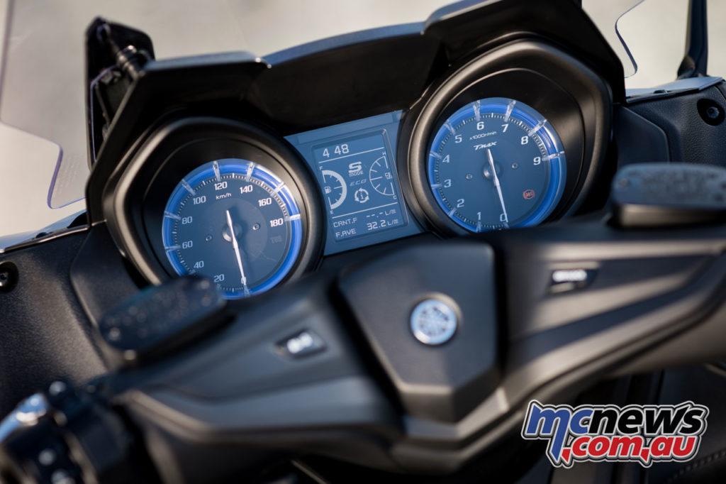 Yamaha TMax IconGrey Detail