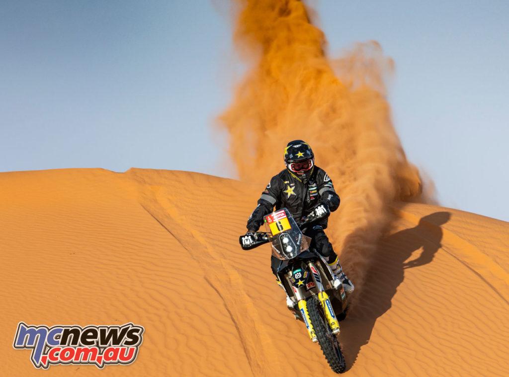Dakar Rally Stage Andrew Short Rockstar Energy Husqvarna Factory Racing