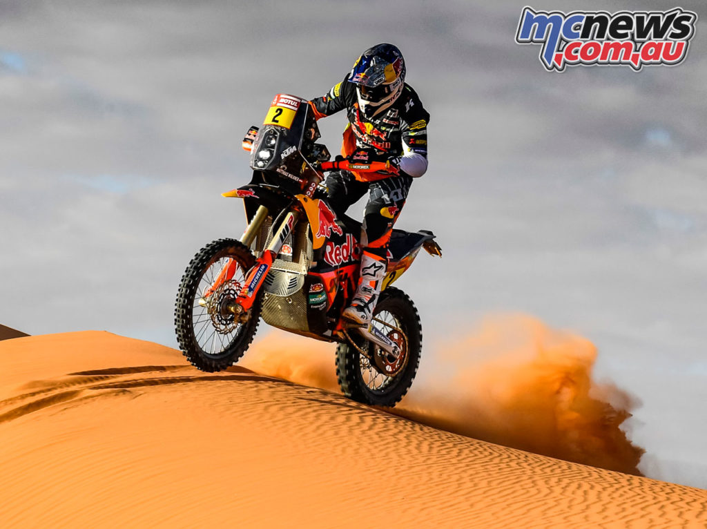 Dakar Rally Stage Matthias Walkner KTM RALLY Dakar Rally