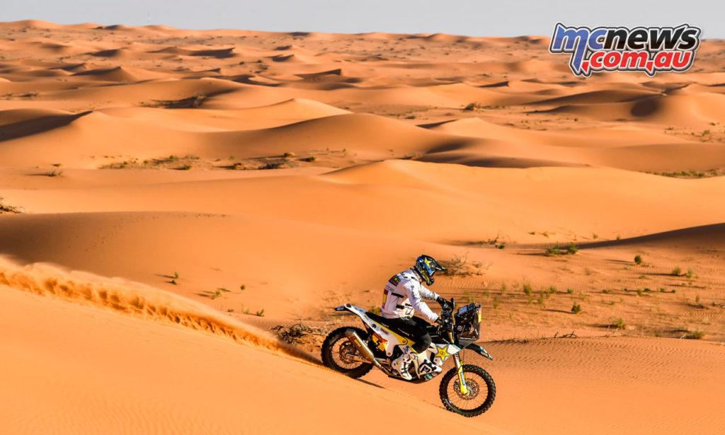 Dakar Rally Stage Pablo Quintanilla Rockstar Energy Husqvarna Factory Racing