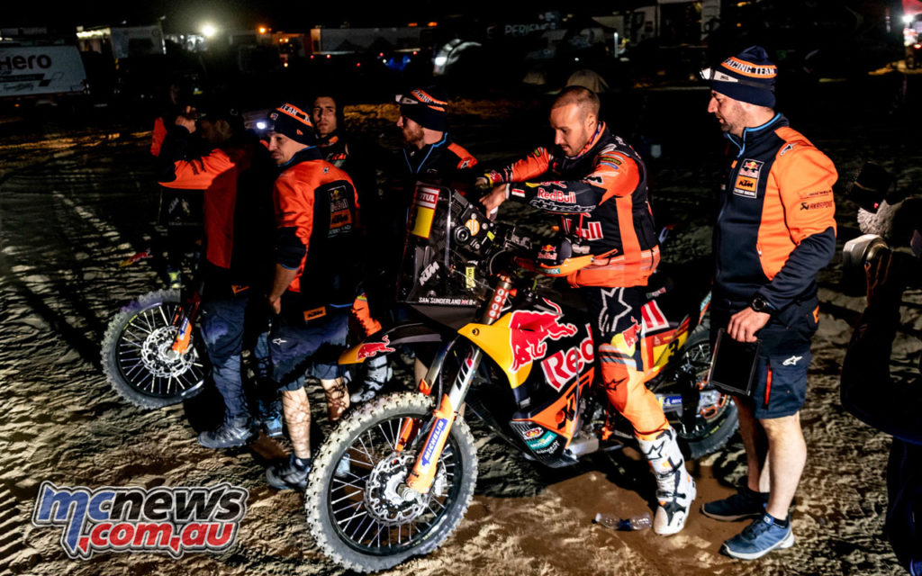 sam sunderland Dakar stage