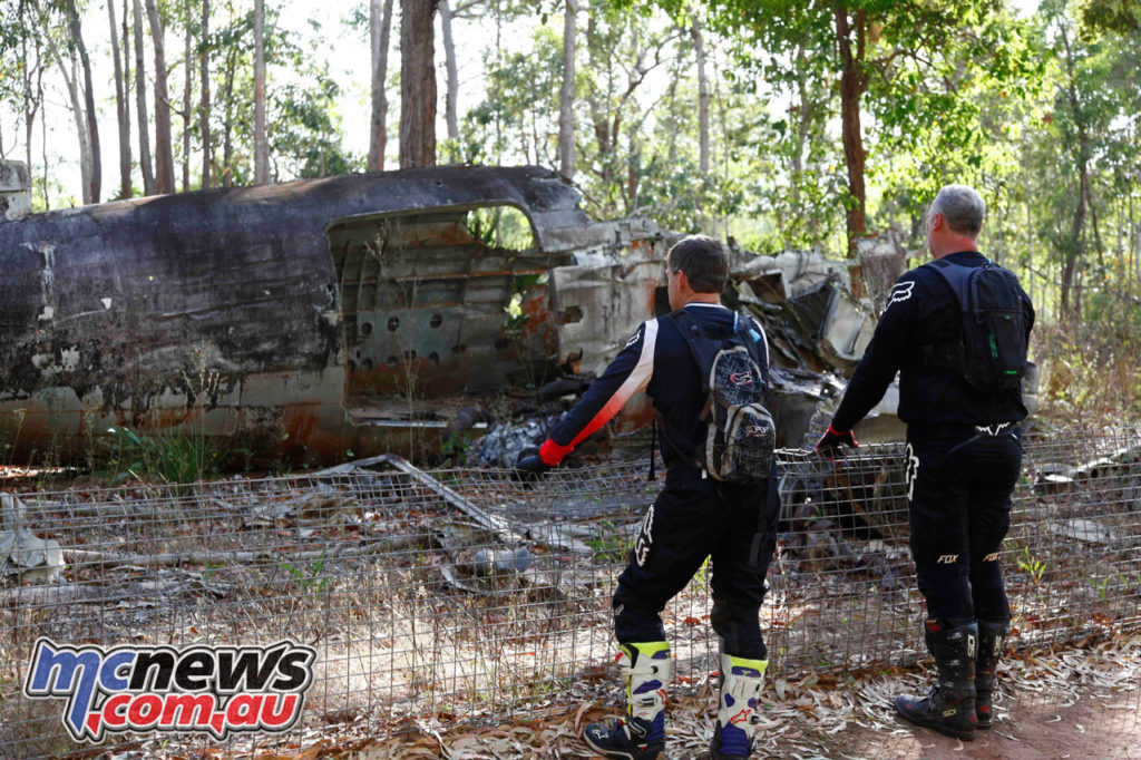 Daryl Beattie Adventures Cape Cairns downed WWII aeroplane