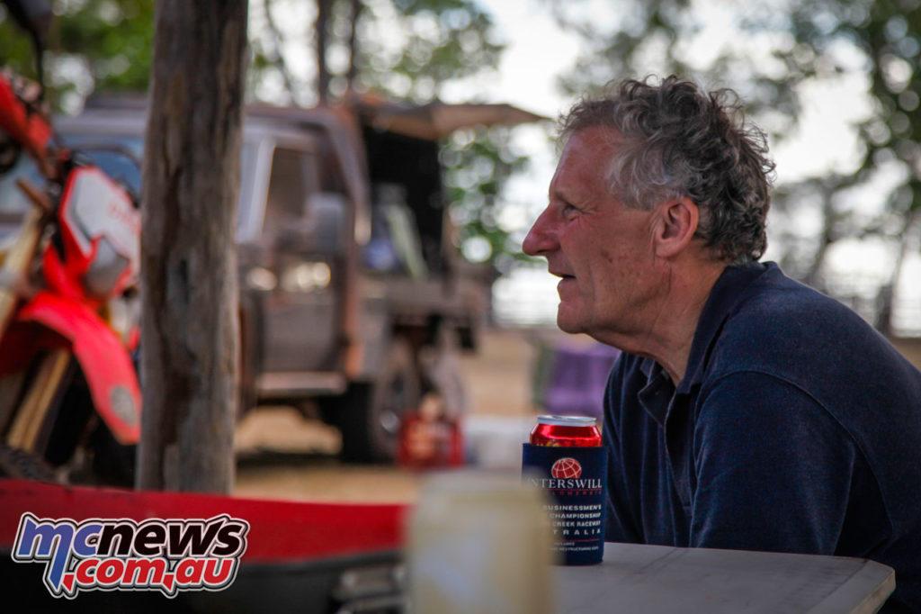 Daryl Beattie Adventures Cape Cairns Jeremy Burgess legendary mechanic