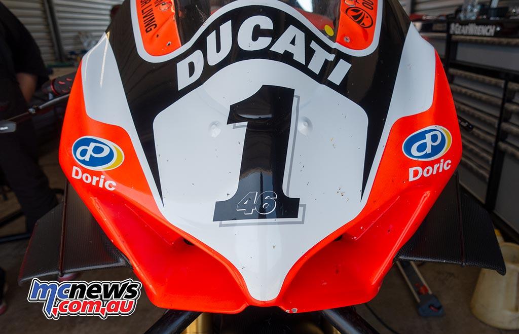 ASBK JanTest PI TH Jones Ducati Front