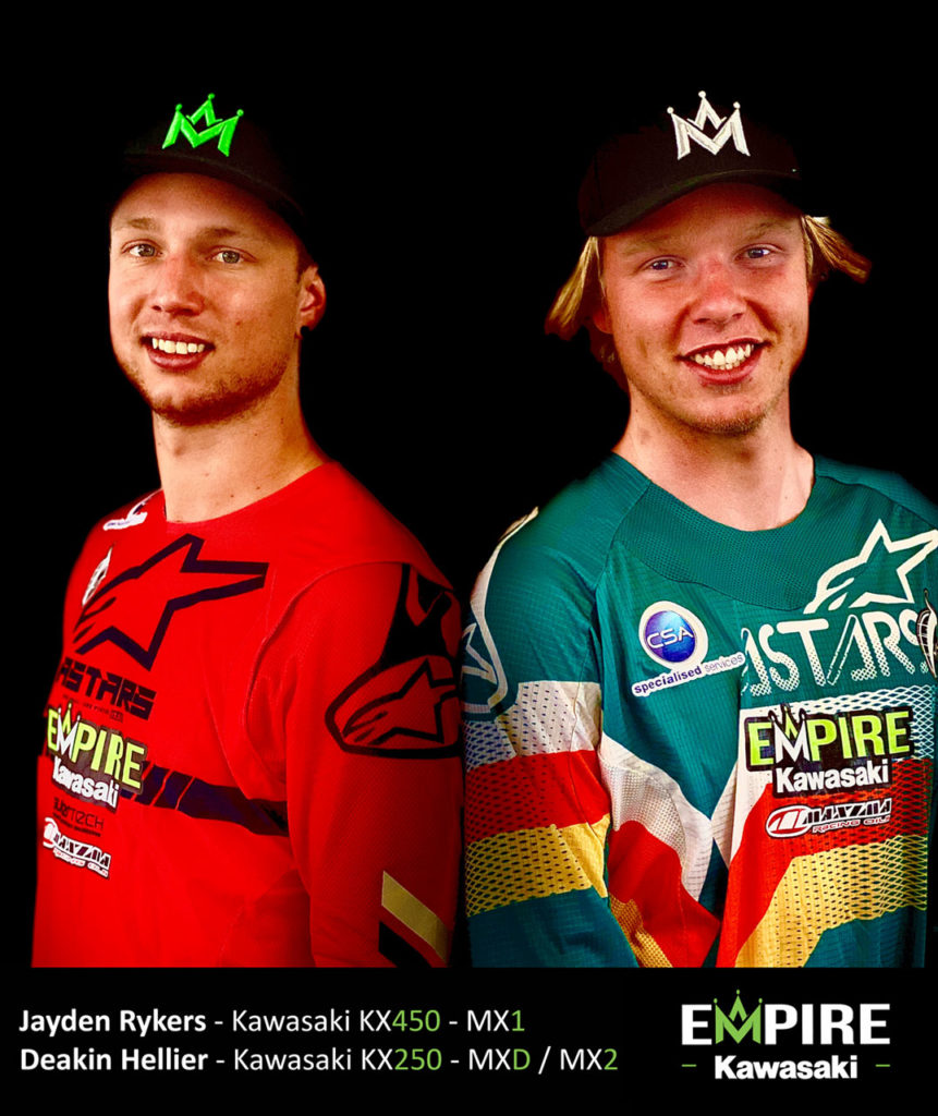 Empire Kawasaki Riders Announced
