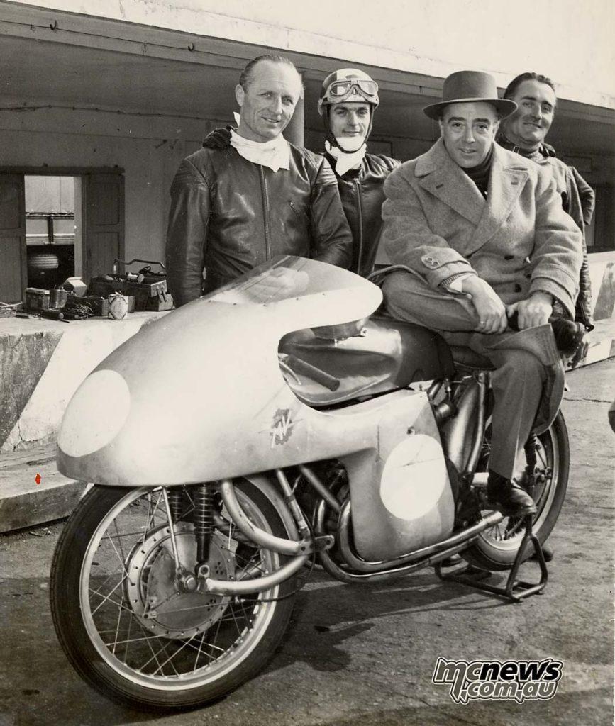 MV Agusta Conte Agusta e John Surtees