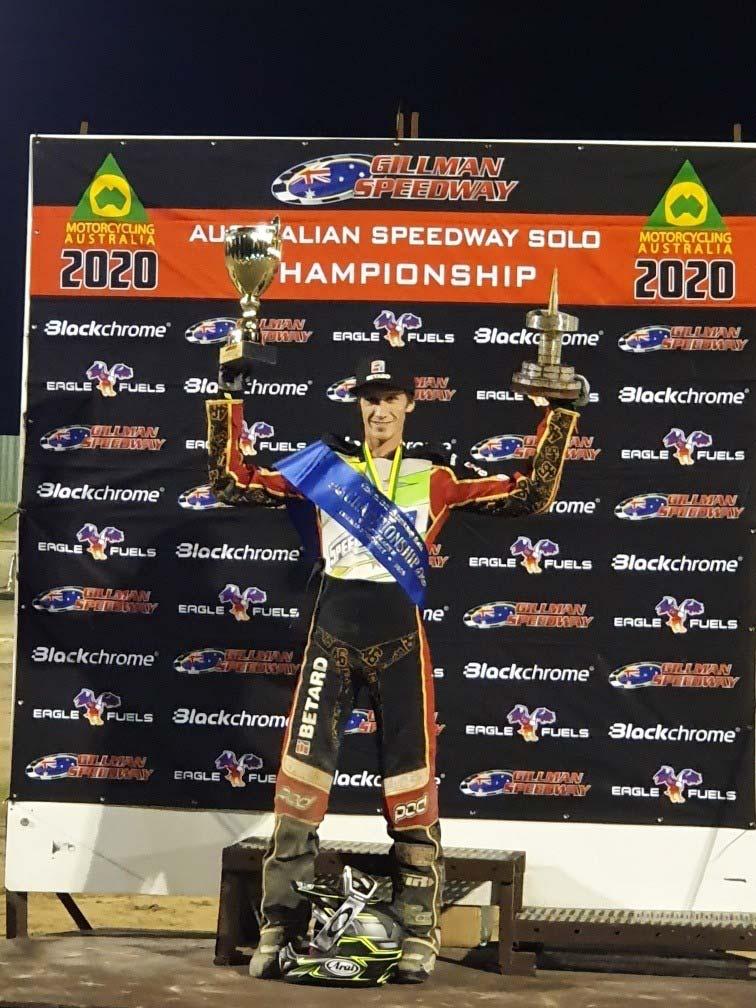 Max Fricke Champion