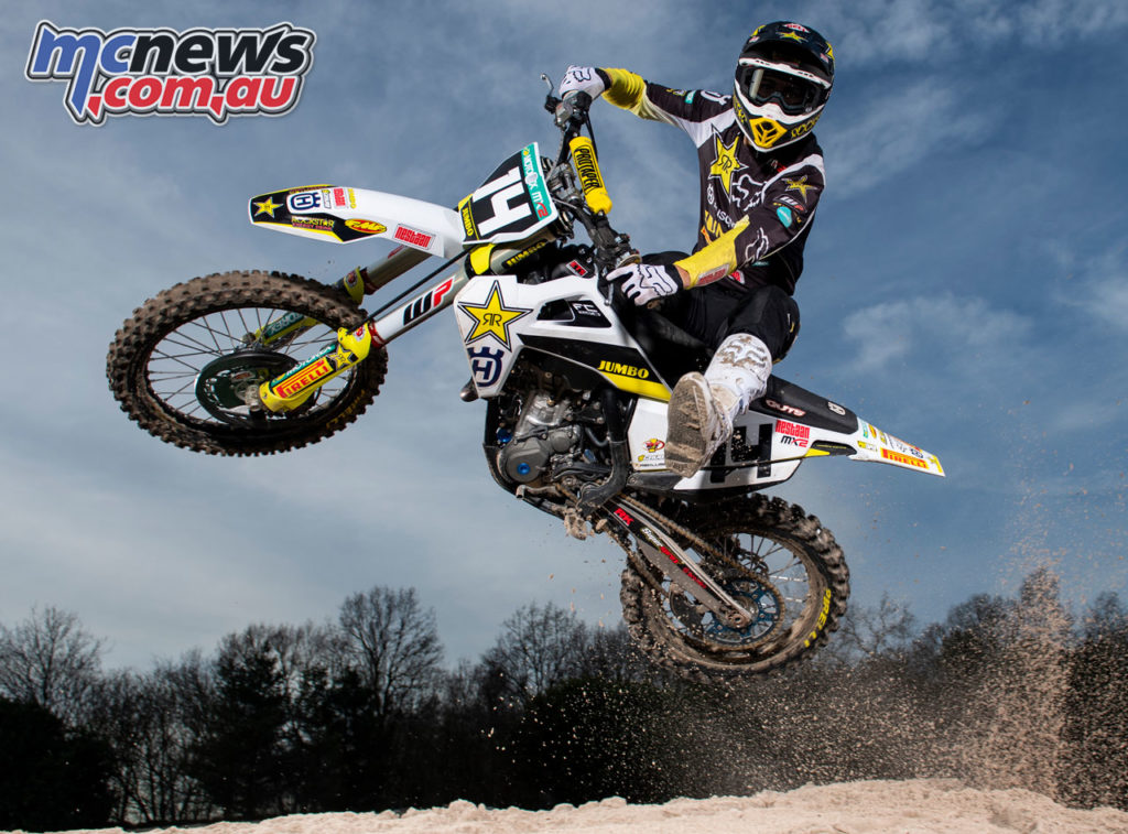 Rockstar Energy Husqvarna Factory Racing MX Team Jed Beaton