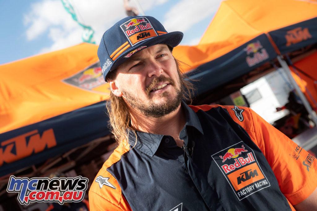 Toby Price KTM RALLY Dakar Rally