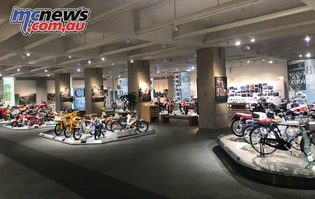 Twin Ring Motegi Honda Collection Hall view