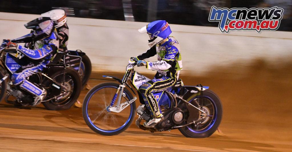 Under s Speedway Championship Jaimon Lidsey