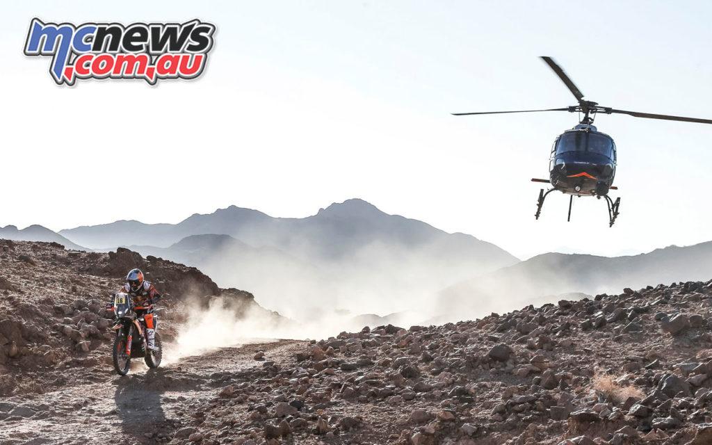 luciano benavides Dakar stage