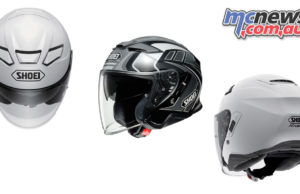 shoei j cruise II helmet aglero tc cover