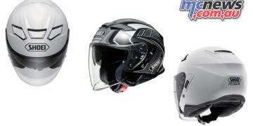 shoei j cruise II helmet aglero tc cover