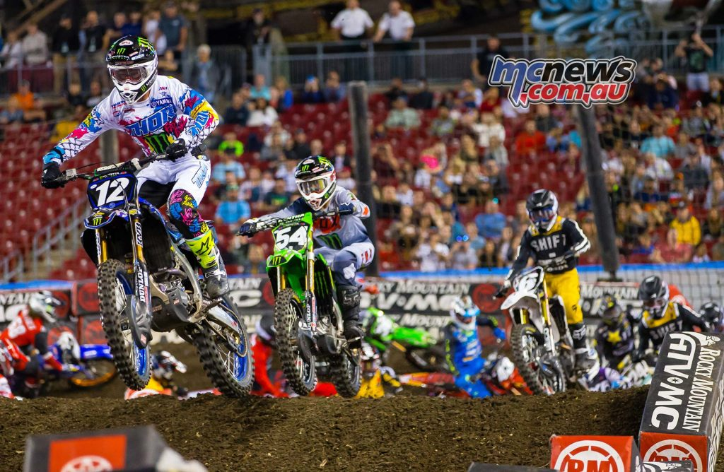 AMA SX Rnd Tampa McElrath Smith Multiple SX TPA Kardy