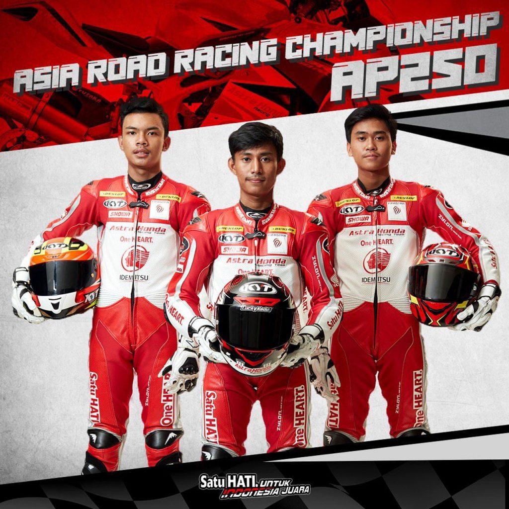 ARRC AP Lucky Hendriansyah Herjun Atna Firdaus Mohammad Adenanta Putra