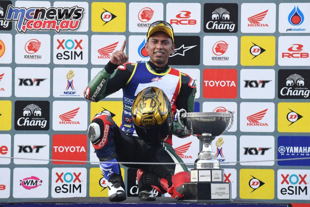 ARRC Superbike Azlan Shah ASB Champion