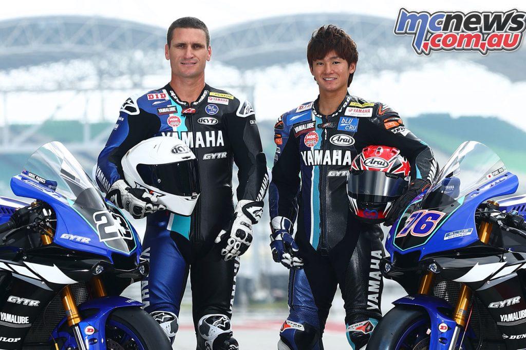 ARRC Superbike Broc Parkes Yuki Ito