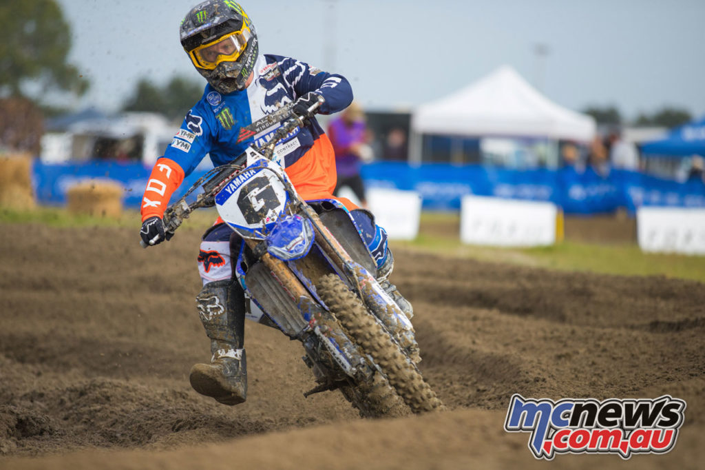 Altherm JCR Yamahas Kirk Gibbs at the Fox NZ Motocross Championship Balclutha