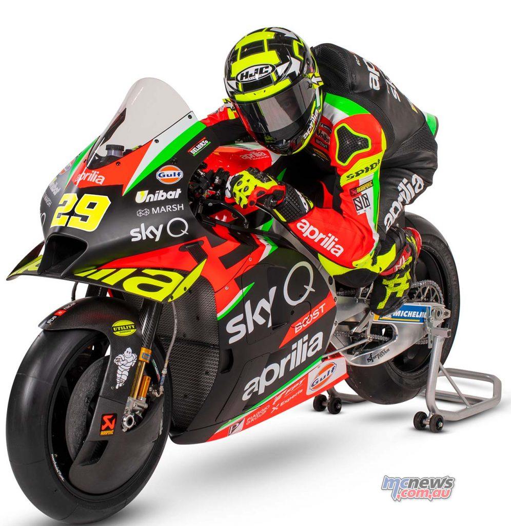 Aprilia RSGP Andrea Iannone Aprilia RS GP