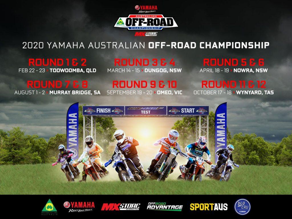 Australian Off Road Championship AORC Calendar