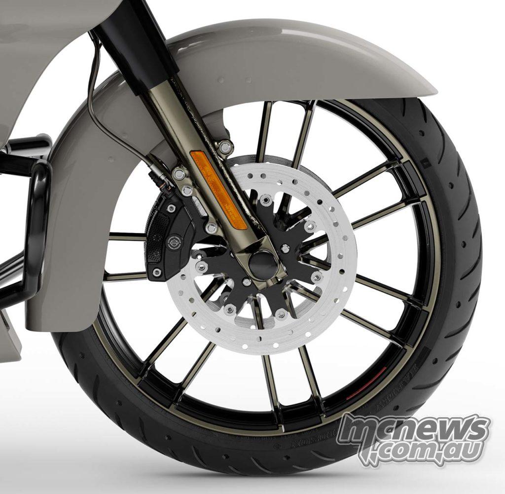 Harley Davidson CVO Road Glide Knockout Rims