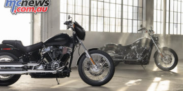 Harley Davidson Softail Standard FXST PA Beauty Cover
