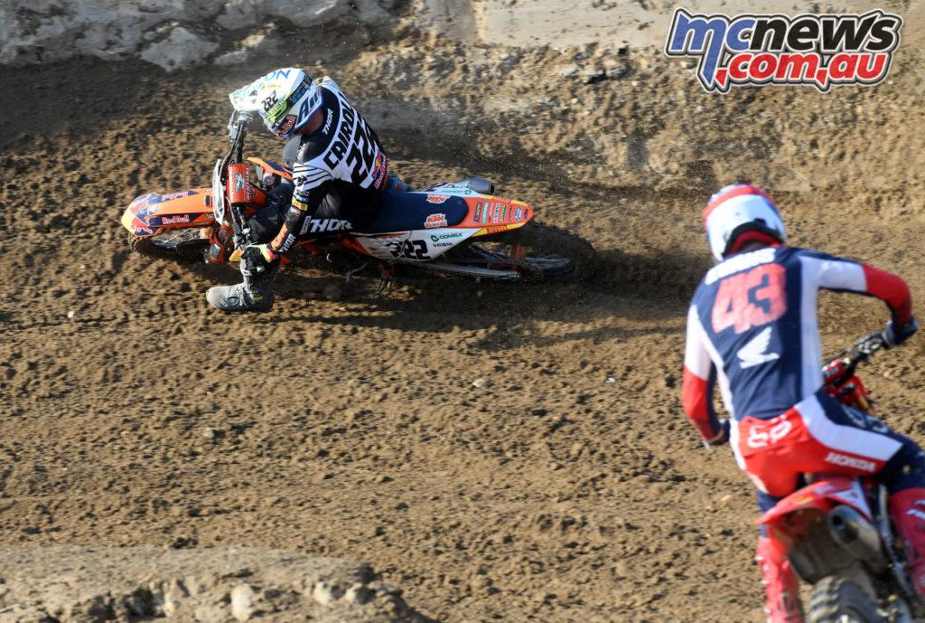 Italian Motocross Rnd Mantova Antonio Cairoli Mitchell Evans