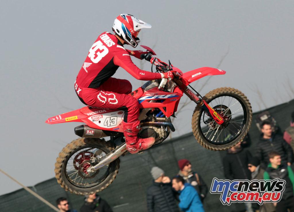 Italian Motocross Rnd Mantova Mitchell Evans