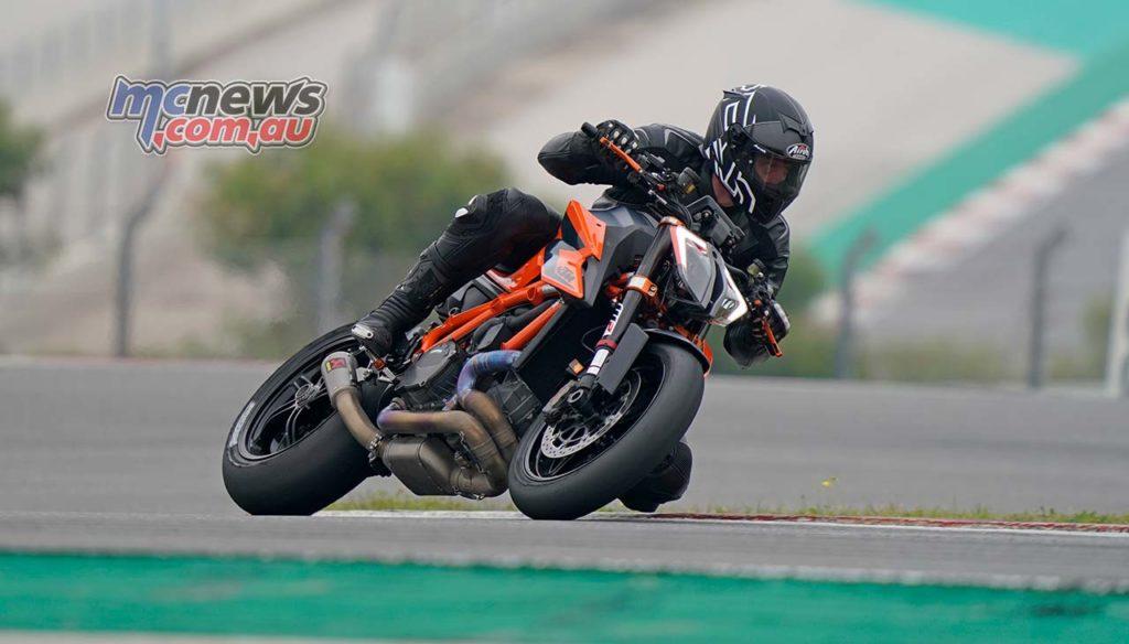 KTM SuperDukeR Launch Wayne