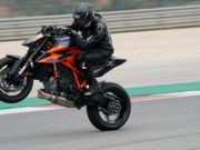 KTM SuperDukeR Launch Wayne