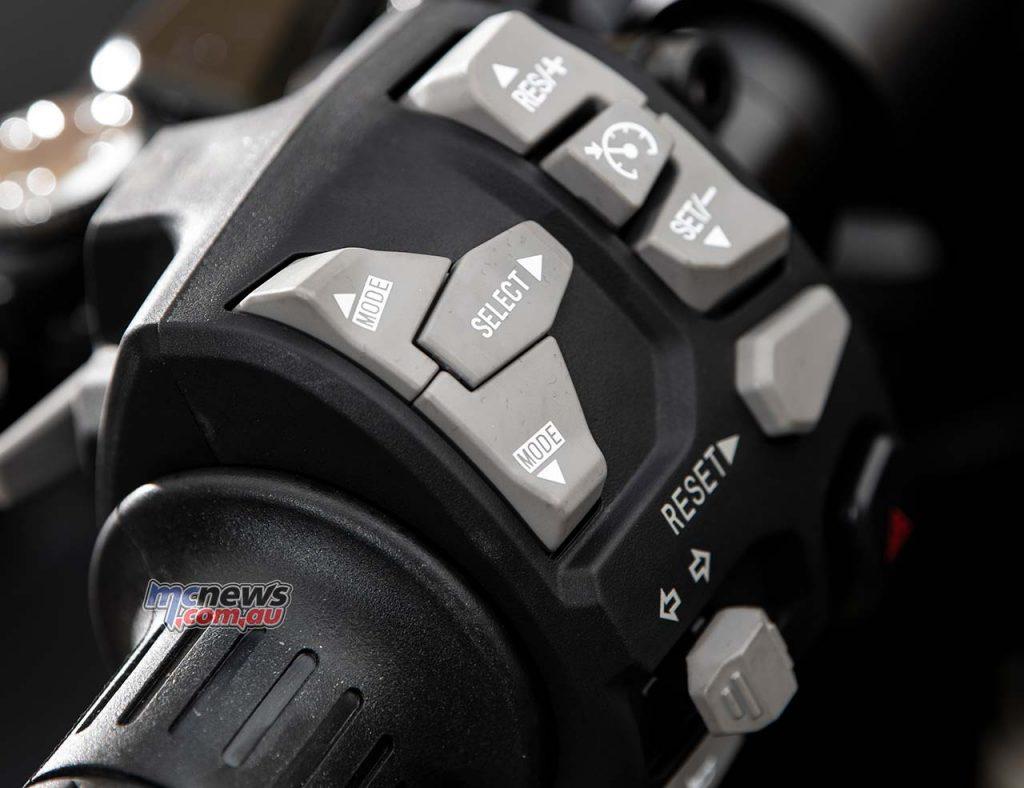 Kawasaki Ninja SX Controls