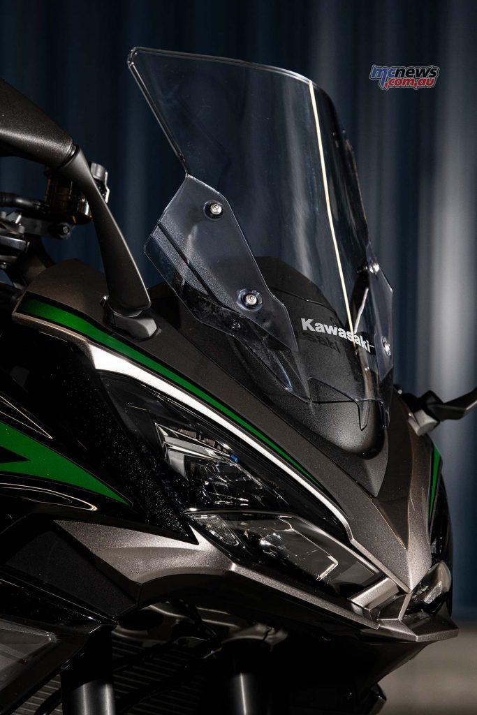 Kawasaki Ninja SX Screen