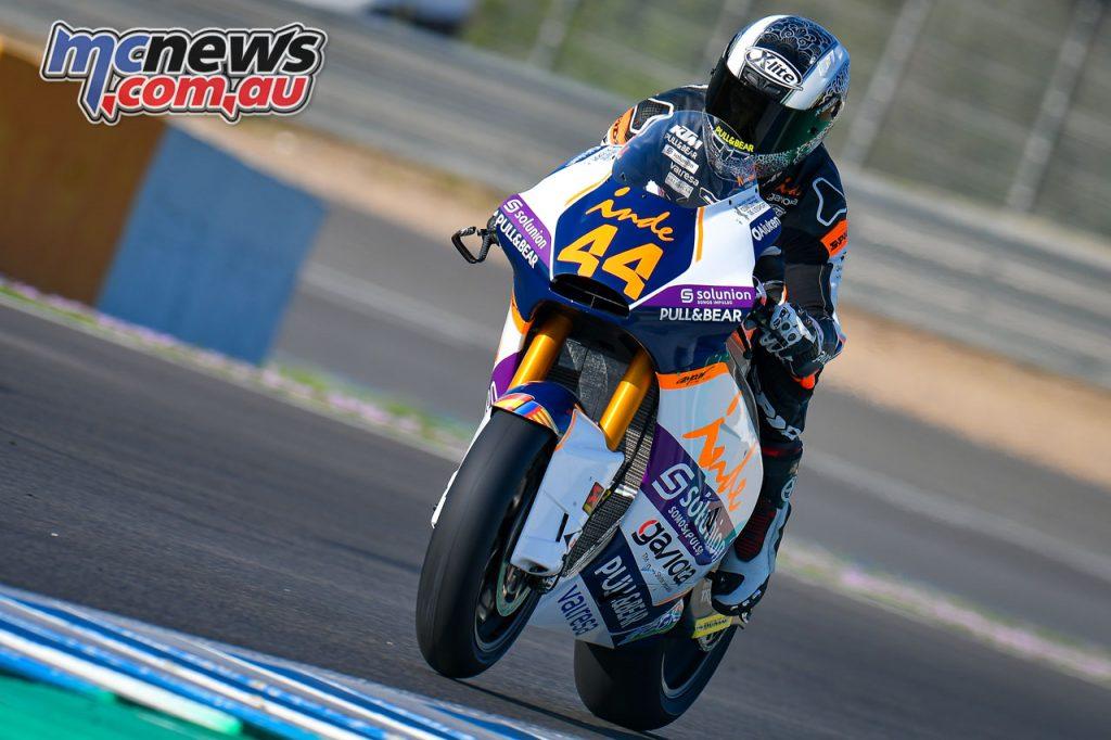 MotoGP Jerez Test D Aaron Canet