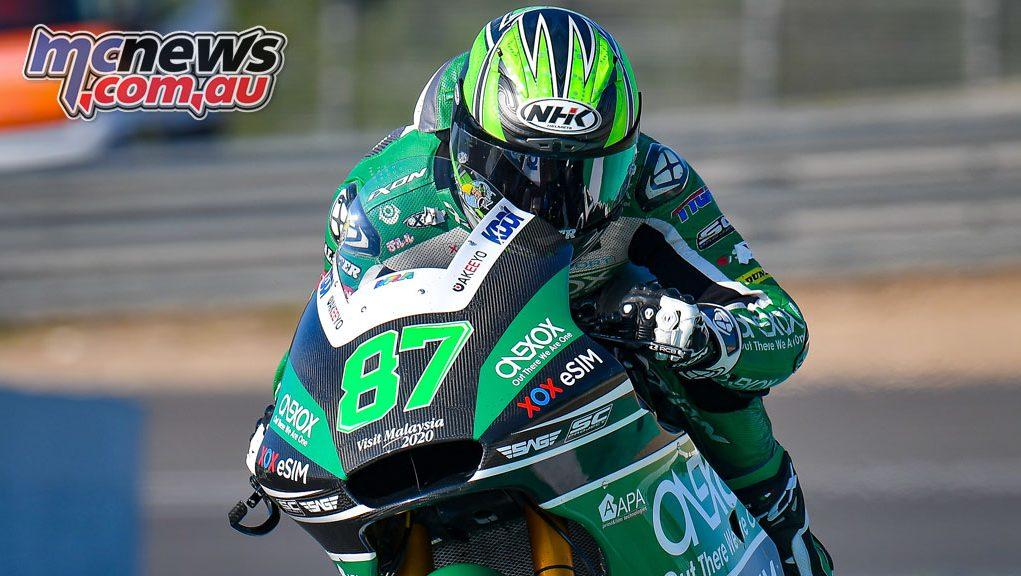 MotoGP Jerez Test D Remy Gardner Cover