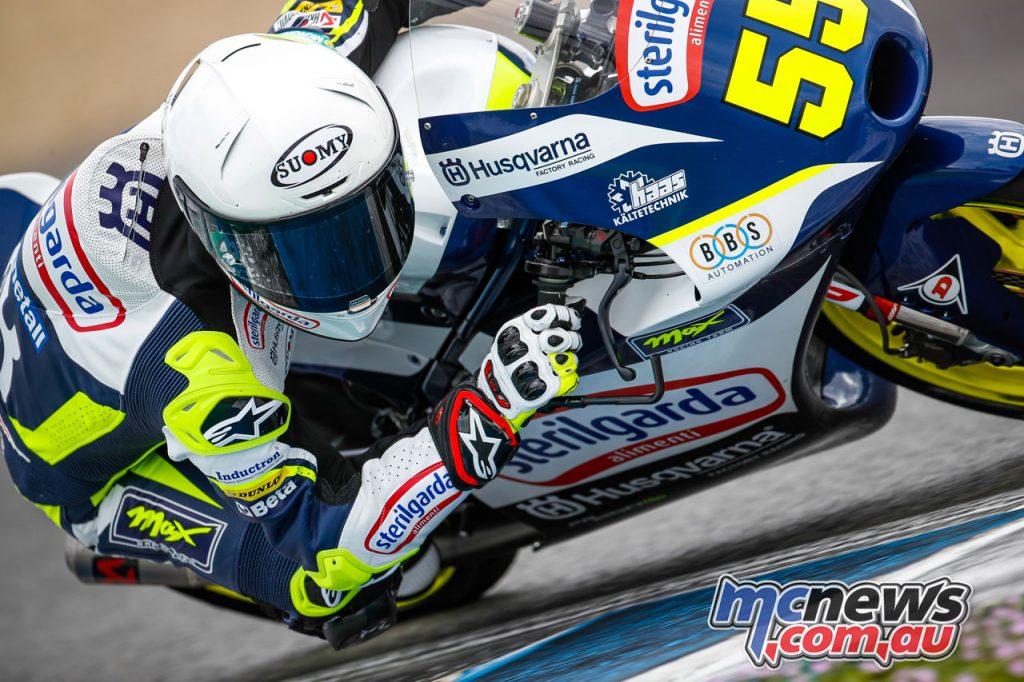 MotoGP Jerez Test D Romano Fenati Moto