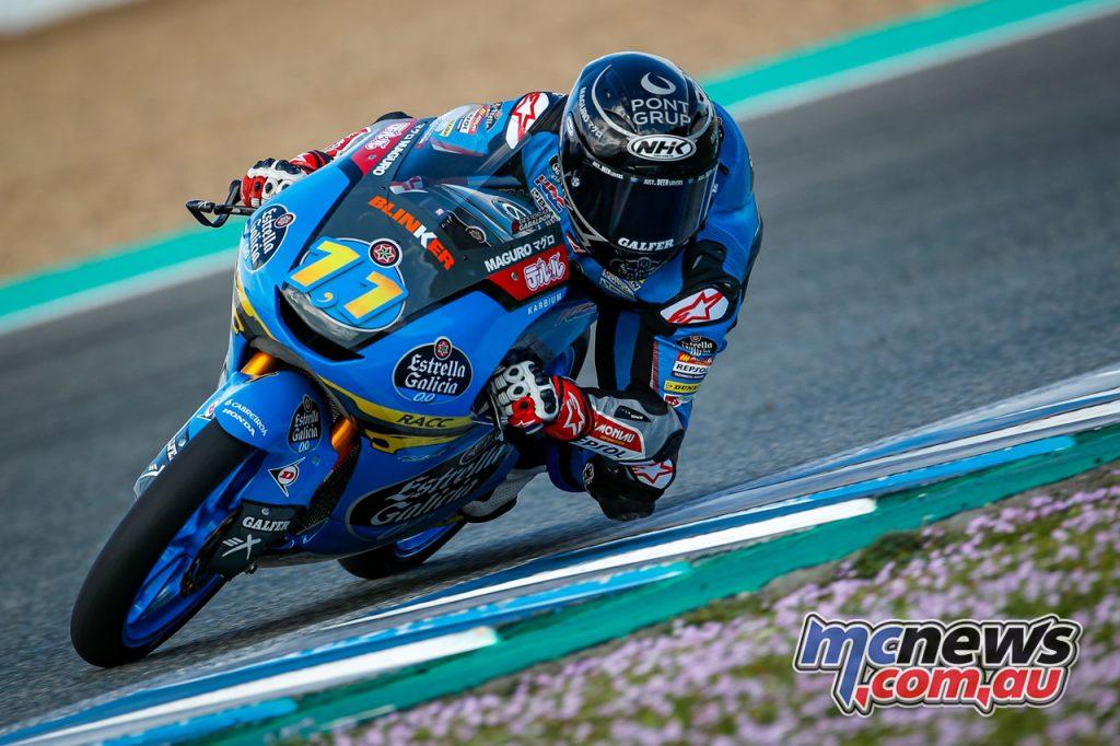 MotoGP Jerez Test D Sergio Garcia Moto