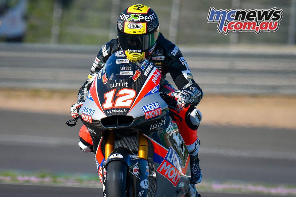 MotoGP Jerez Test D Thomas Lüthi