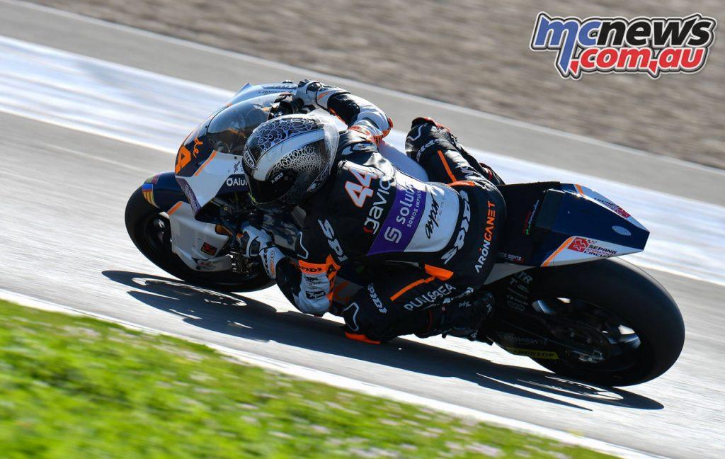 MotoGP Jerez Test D Aron Canet