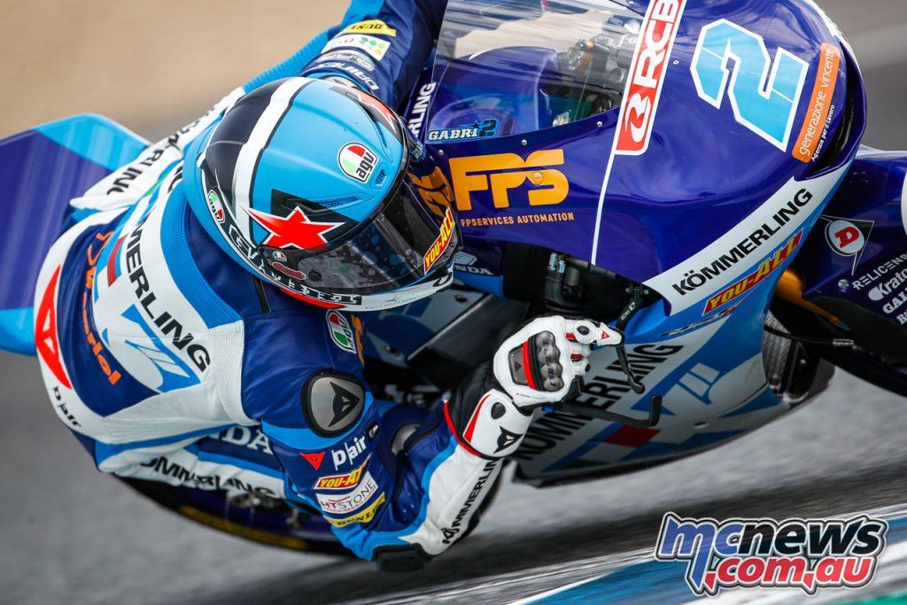 MotoGP Jerez Test D Gabriel Rodrigo Moto