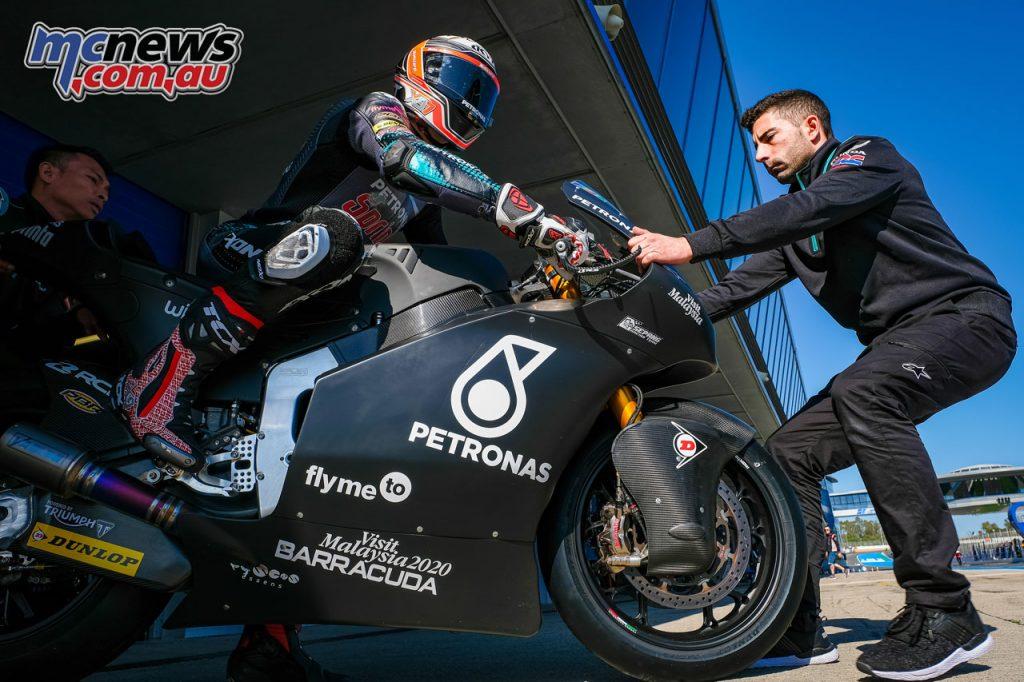 MotoGP Jerez Test D Xavi Vierge