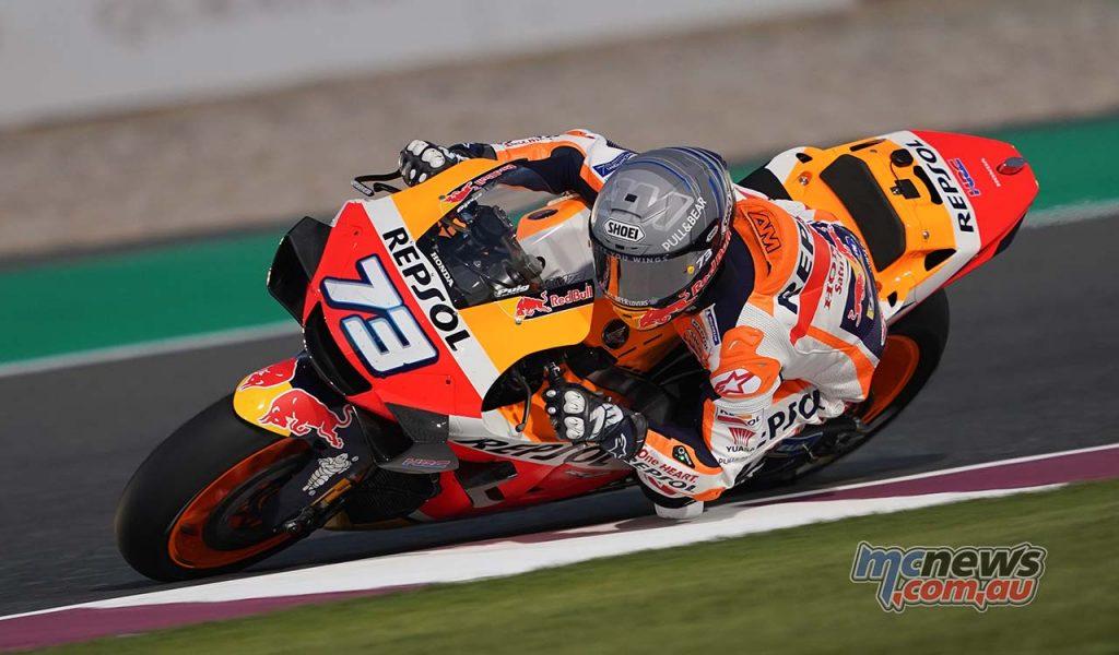 MotoGP QatarTest Day Alex Marquez